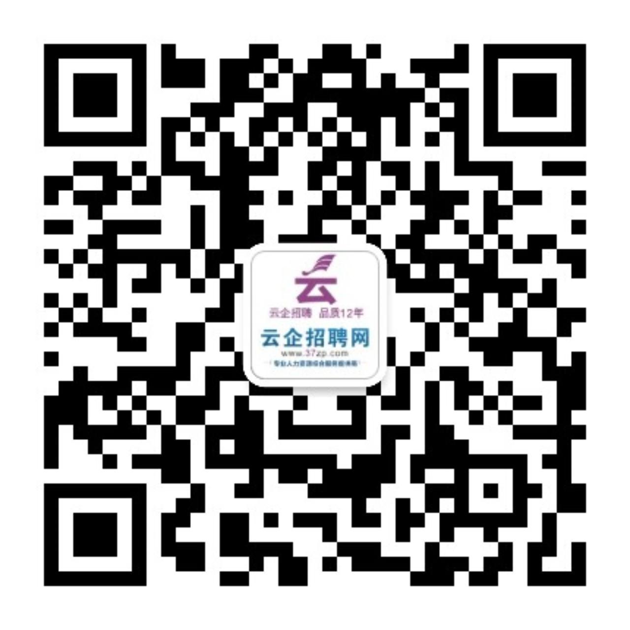 云企招聘网服务号